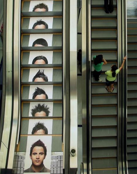 15 reclame creative, puse pe scari - Poza 10
