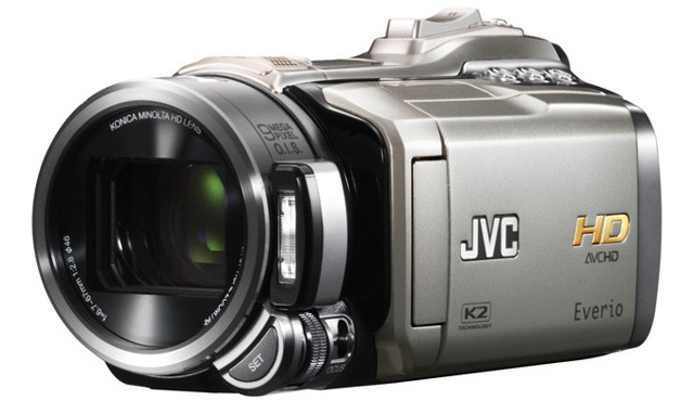 JVC Everio GZ-HM400 Full HD - Poza 1