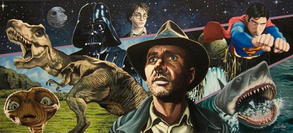 18 ilustratii superbe din filme semnate Justin Reed
