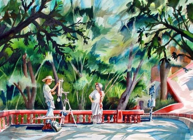 Tablouri in culori vii semnate Mike Kleimo - Poza 11