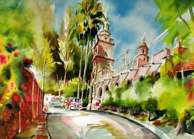 Tablouri in culori vii semnate Mike Kleimo - Poza 8
