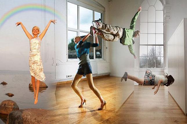 Un moment de levitatie - Poza 1