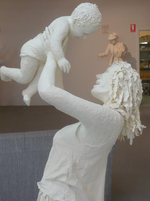 25 de sculpturi din hartie - Poza 14