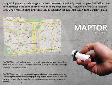 Maptor: Proiectorul de harti - Poza 1