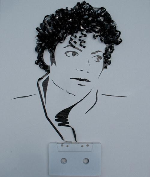 portrete superbe din banda de casete