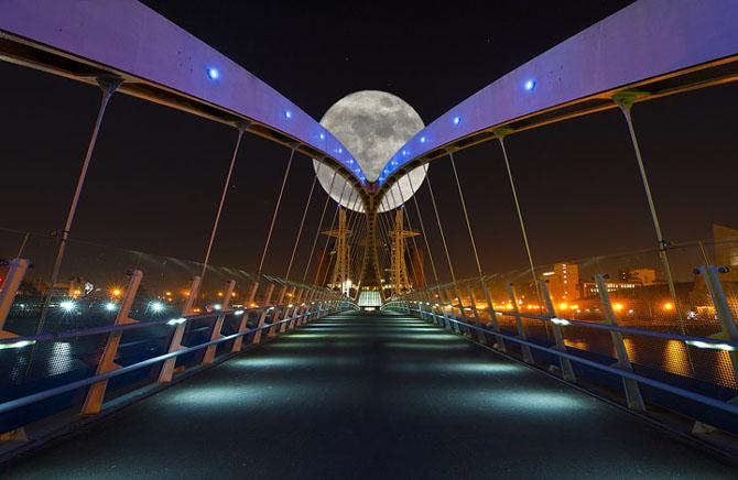 26 de fotografii superbe cu Luna - Poza 11