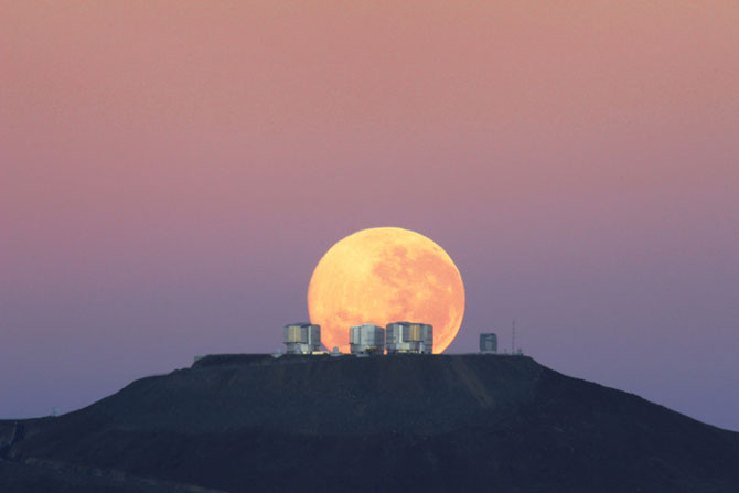 26 de fotografii superbe cu Luna - Poza 16