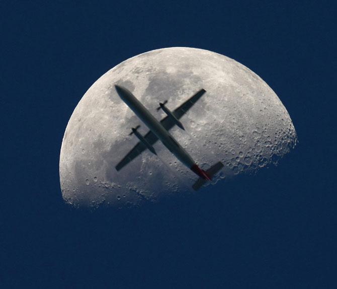 26 de fotografii superbe cu Luna - Poza 24