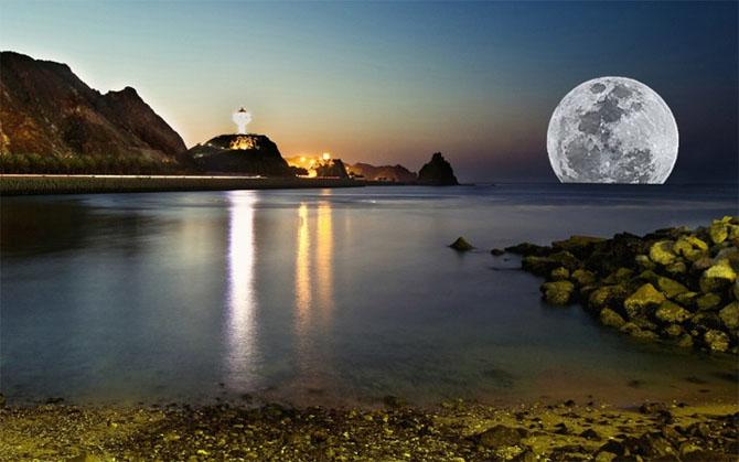 26 de fotografii superbe cu Luna - Poza 3