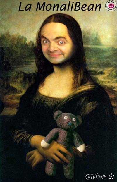 14 poze teribile cu Mr. Bean