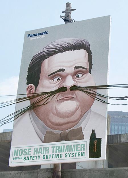 Parul din nas si reclamele - Poza 1