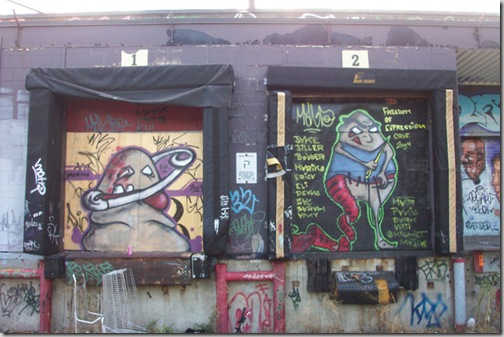 24 de picturi fenomenale pe usile garajelor - Poza 12