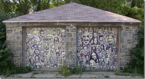 24 de picturi fenomenale pe usile garajelor - Poza 20