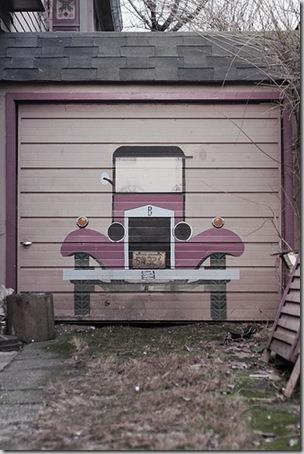 24 de picturi fenomenale pe usile garajelor - Poza 23