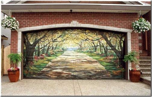 24 de picturi fenomenale pe usile garajelor - Poza 4