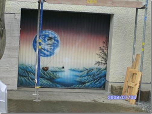 24 de picturi fenomenale pe usile garajelor - Poza 11