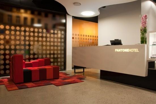 Hotelul Pantone din Bruxel