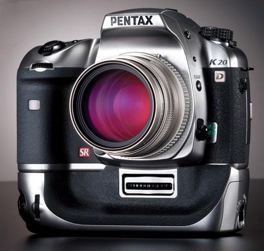 Pentax K20D Titanium Edition - Poza 1