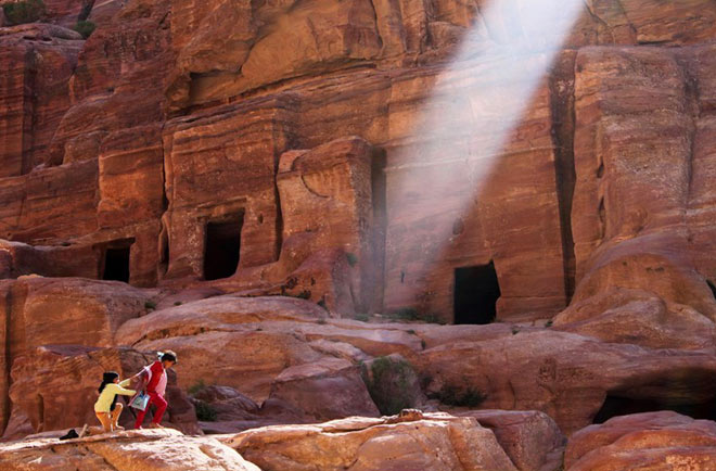 Petra, orasul sapat in piatra - Poza 6