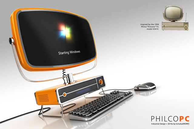 Retro: Philco PC - Poza 1