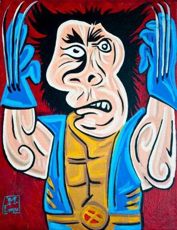 Caricaturi a la Picasso - Poza 10
