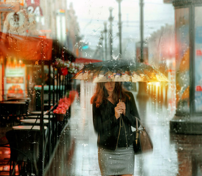 Frumusetea ploii din Rusia, in poze de colectie - Poza 9