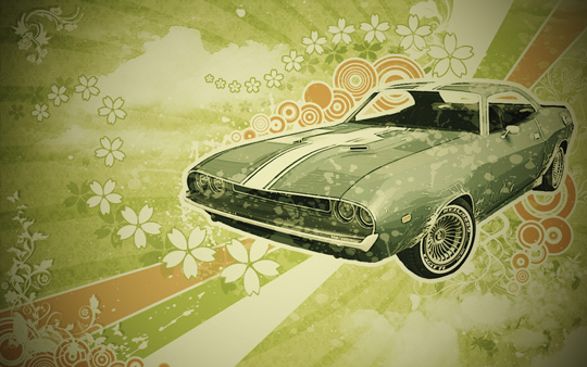 49 de wallpapere in stil retro