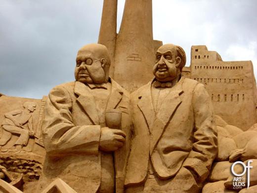 38 sculpturi incredibile in nisip