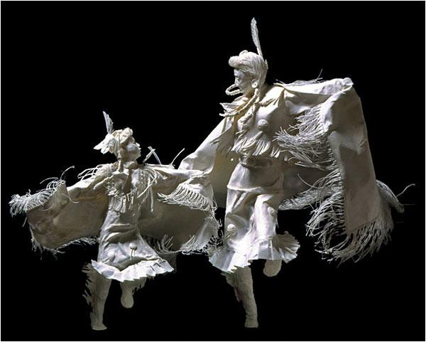 Sculpturi din hartie