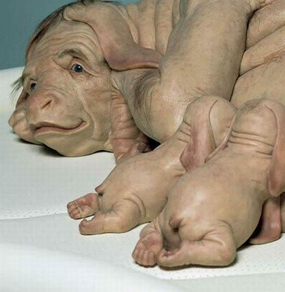 Sculpturi adorabile sau dezgustatoare? - Poza 21