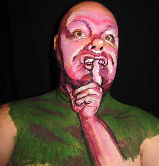 James Kuhn - pictura pe fata - Poza 14