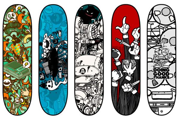 Skateboard Designs - Poza 1