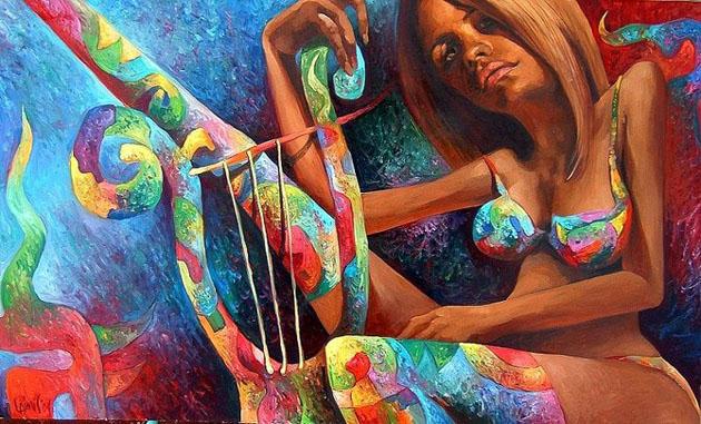 Picturi impresionante semnate Laimonas Smergelis - Poza 8