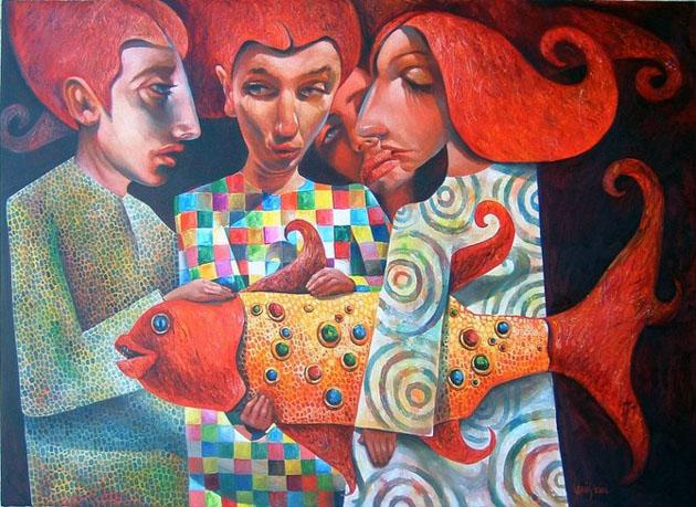 Picturi impresionante semnate Laimonas Smergelis - Poza 1