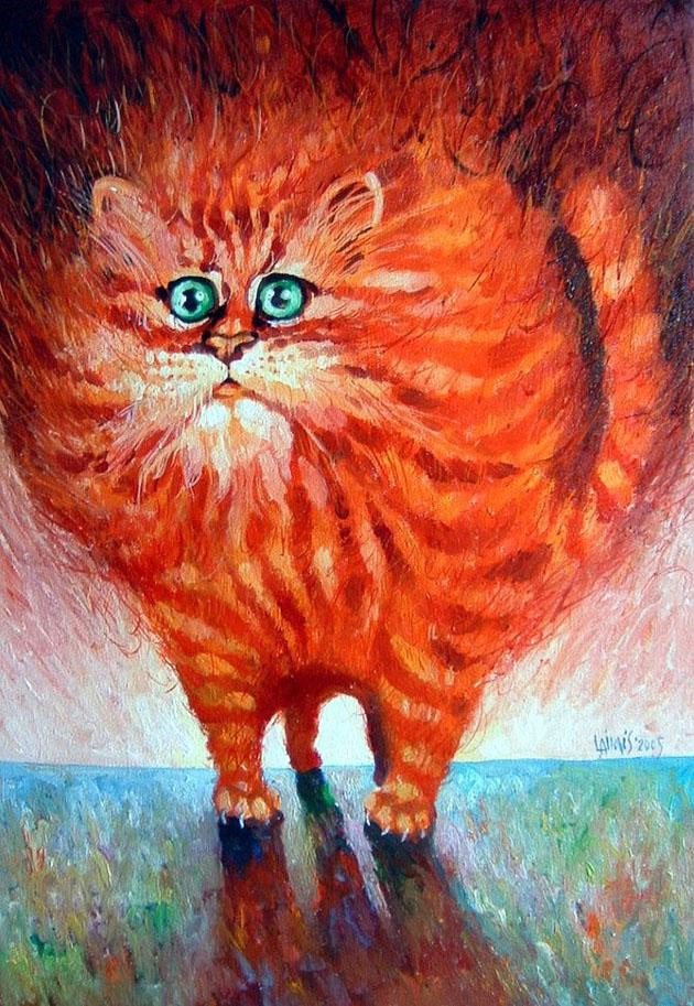 Picturi impresionante semnate Laimonas Smergelis - Poza 12