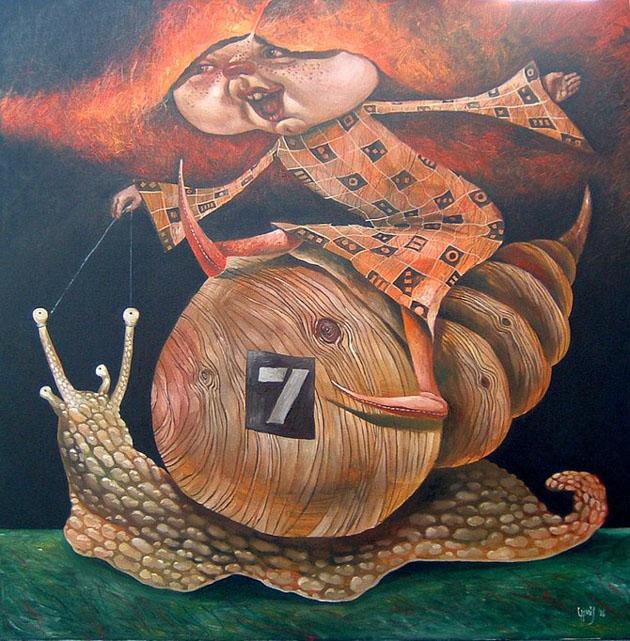 Picturi impresionante semnate Laimonas Smergelis - Poza 14