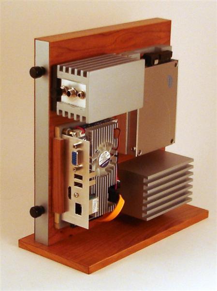 Carcasa PC din lemn si aluminiu - Poza 6