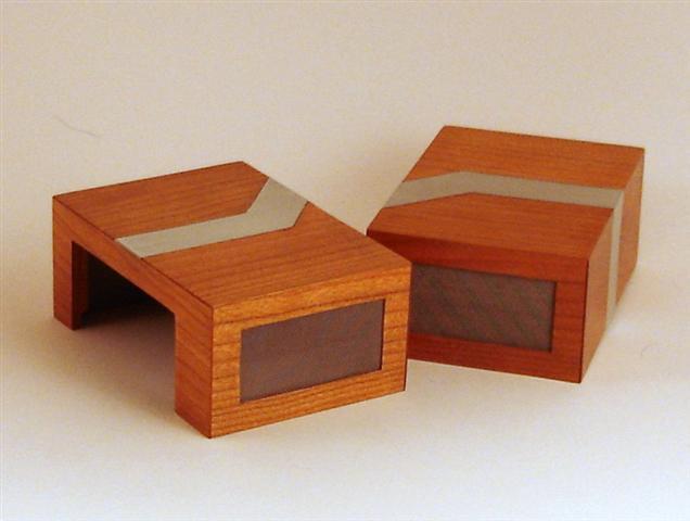 Carcasa PC din lemn si aluminiu - Poza 1