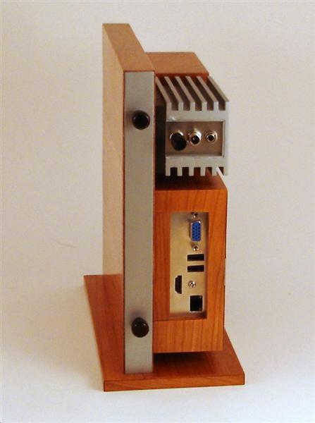 Carcasa PC din lemn si aluminiu - Poza 8