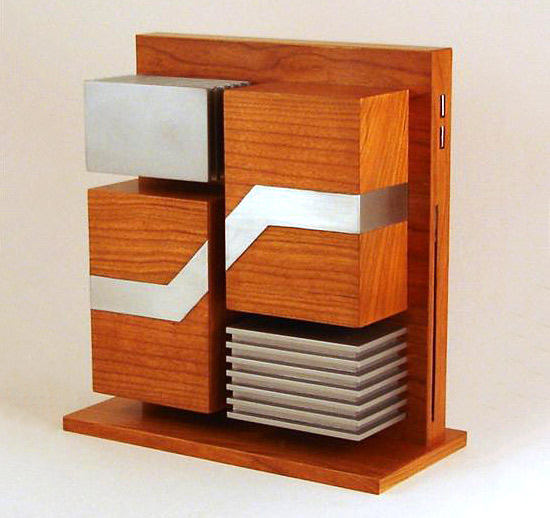 Carcasa PC din lemn si aluminiu - Poza 9