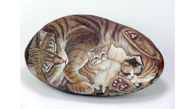 Picturi pe pietre - Poza 10