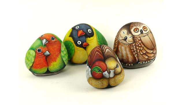 Picturi pe pietre - Poza 6
