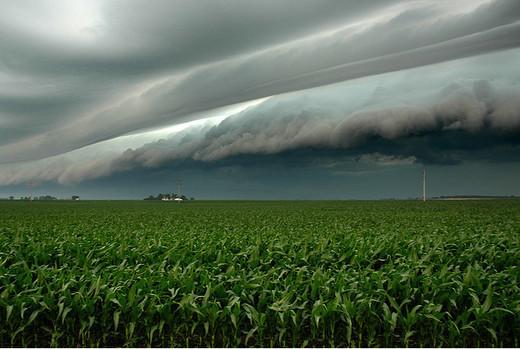 Natura dezlantuita: 30 de poze cu furtuni - Poza 14