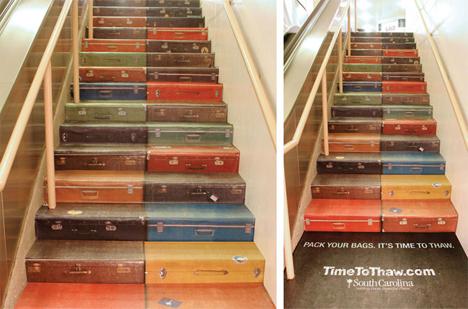 15 reclame creative, puse pe scari - Poza 14