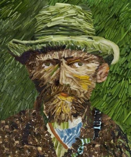 Opere de arta din legume - Poza 1