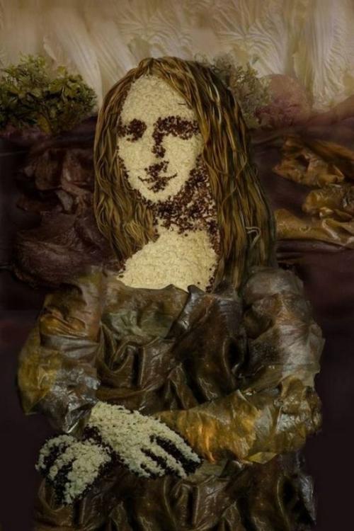 Opere de arta din legume - Poza 2