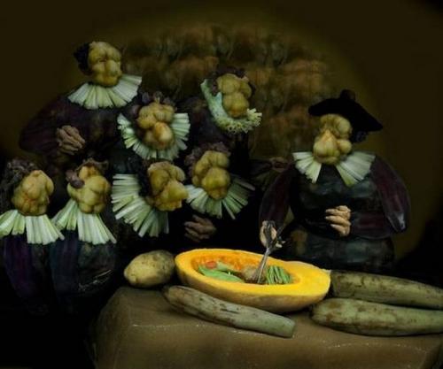 Opere de arta din legume - Poza 3