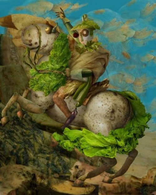 Opere de arta din legume - Poza 6