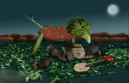 Opere de arta din legume - Poza 15