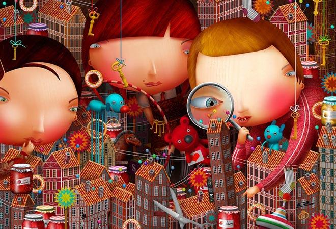 20 de ilustratii superbe: Vadim Gannenko - Poza 1